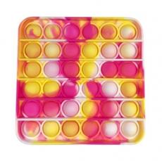 Popit Quadrat gelb-rot