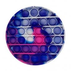 Popit Scheibe pink-violett-blau