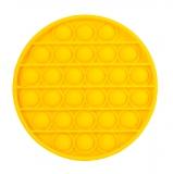 Popit giocattolo disco giallo