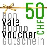 Gutschein für CHF 50.00