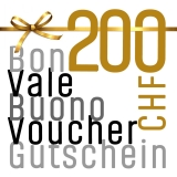 Gutschein für CHF 200.00