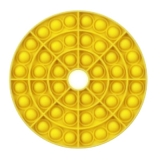 Popit Scheibe mit Loch gelb