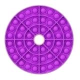 Popit Scheibe mit Loch violett