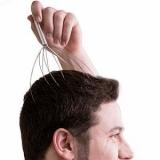 Kopfmassagege-Stab (manuell)