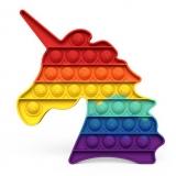 Popit Regenbogen-Einhorn